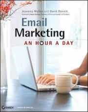 Email Marketing An Hour A Day - English American Cover