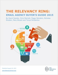 The Relevancy Ring: Email Agency Buyer's Guide, 2015